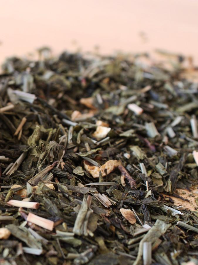 Bulk loose leaf tea.