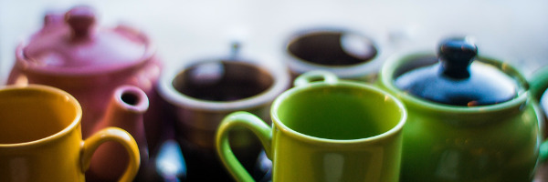 Tea pots or tea by the cup for your tea program?