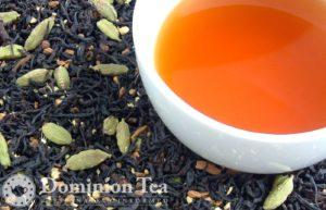 Maple Chai Tea Liquor and Loose Tea Leaf